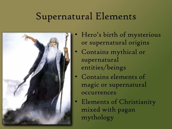 Supernatural Elements