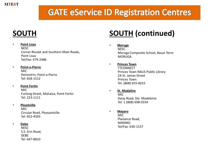 Gate eservice id registration centres1