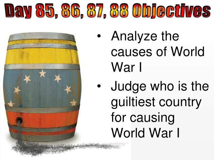 causes world war 1 7