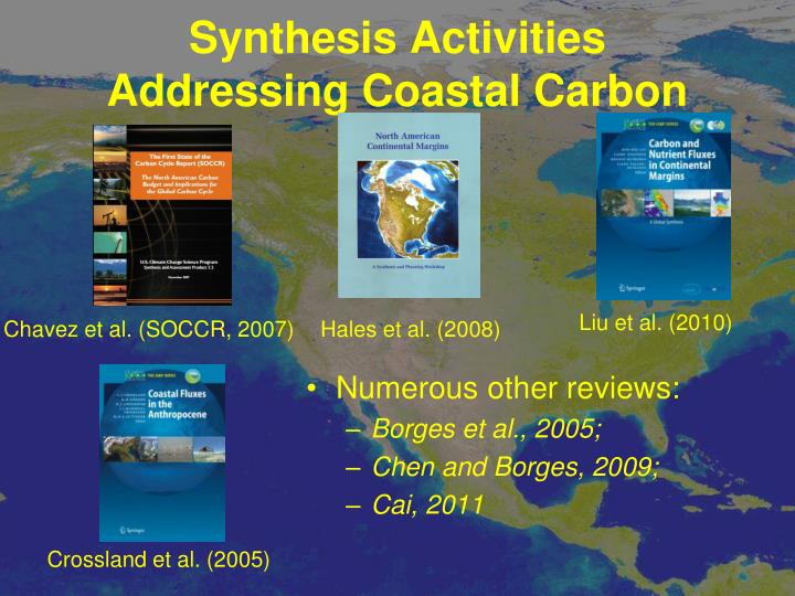 Synthesis Activities Addressing Coastal Carbon