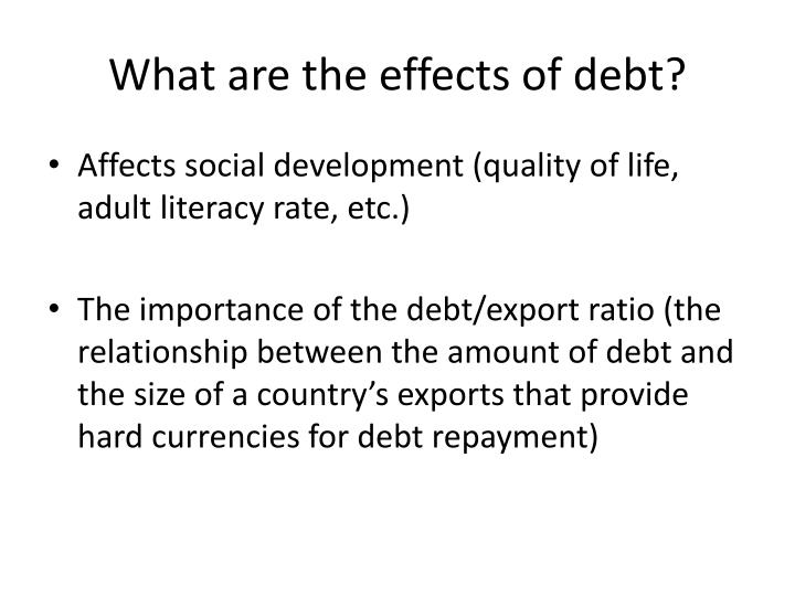 the effects of debt on post college life Attending college can have many positive and negative effects a few negative effects are debt with that being said many colleges nowadays have been putting in posts every few feet that have a having a college degree can lead to many great opportunities in life many jobs require some kind of.