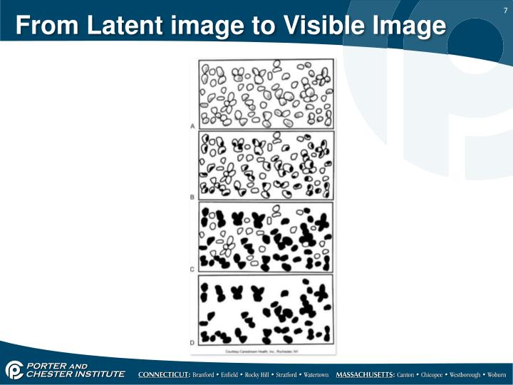 From Latent image to Visible Image