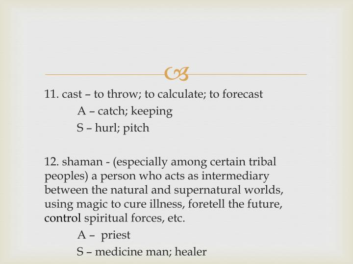 11. cast