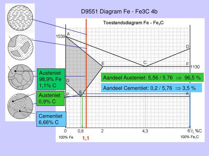 D9551 Diagram Fe - Fe3C 4b