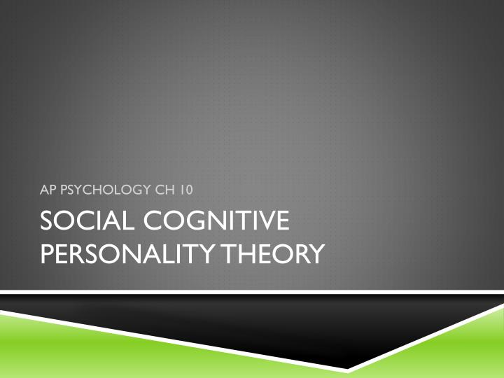 """personality theory powerpoint presentation Trait theory and the big five traits gordon allport wrote the influential book, """"personality"""" in 1937 he developed his ideas about """"traits."""