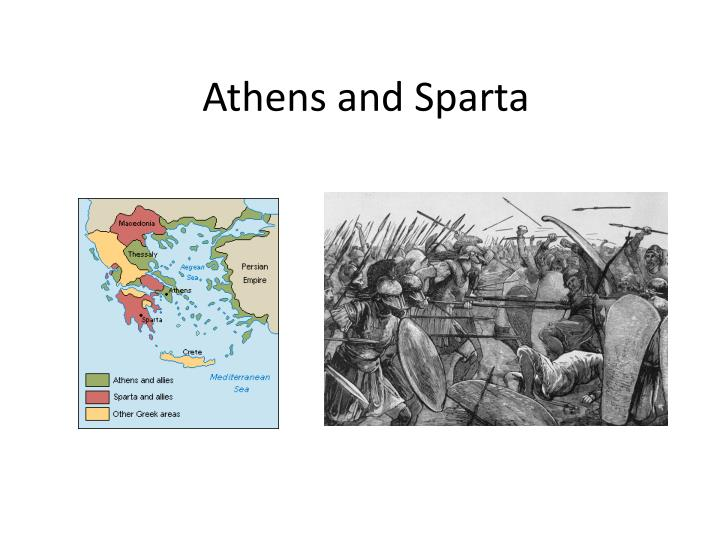 a comparison of athens and sparta the two major city states in ancient greece
