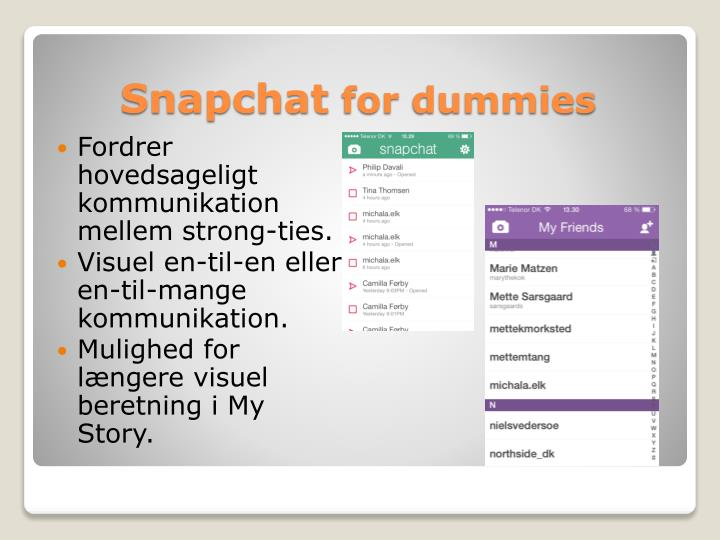 Snapchat for dummies1
