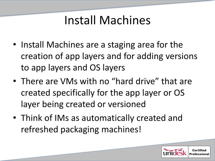 Install Machines