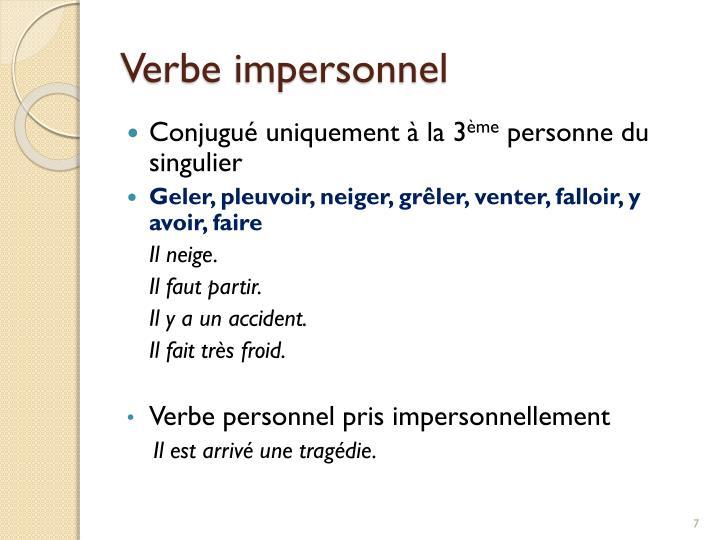 Czasowniki bezosobowe - słownictwo 3 - Francuski przy kawie