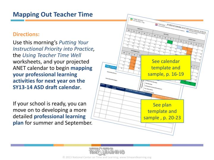Mapping Out Teacher Time