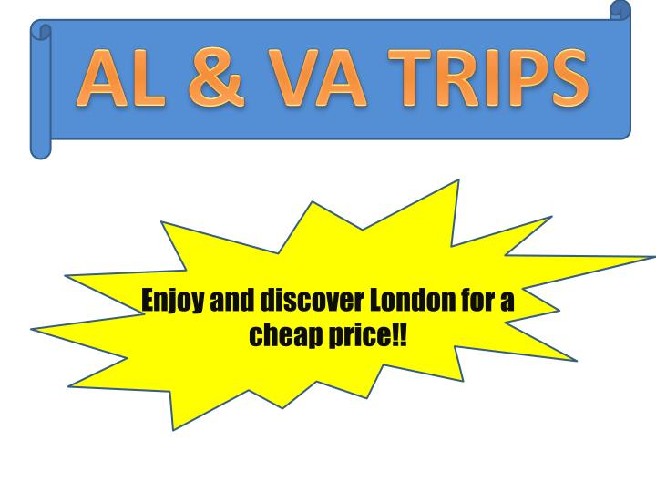 enjoy and discover london for a cheap price n.