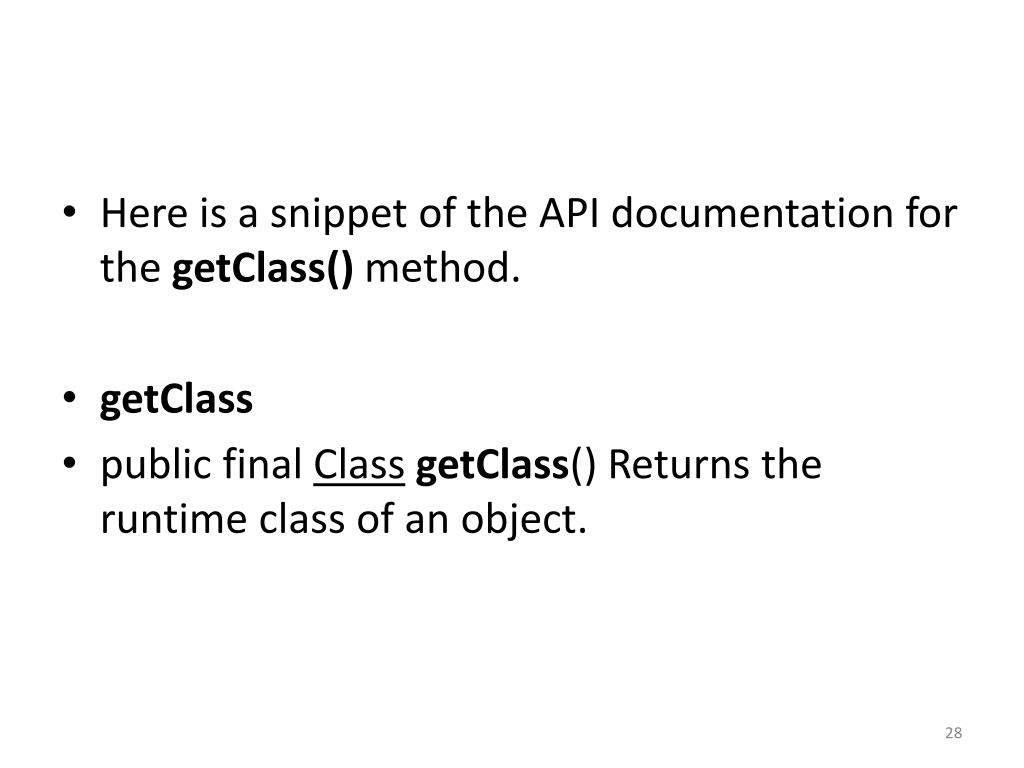 PPT - Java Unit 14 The Methods toString (), equals(), and clone
