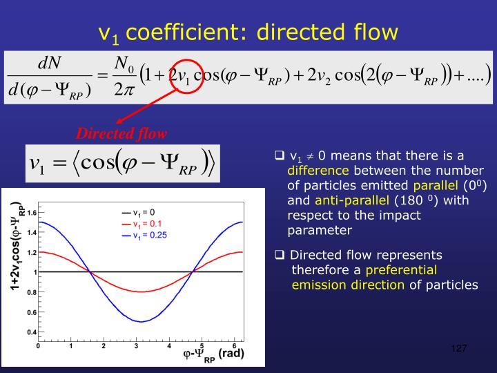 Directed flow