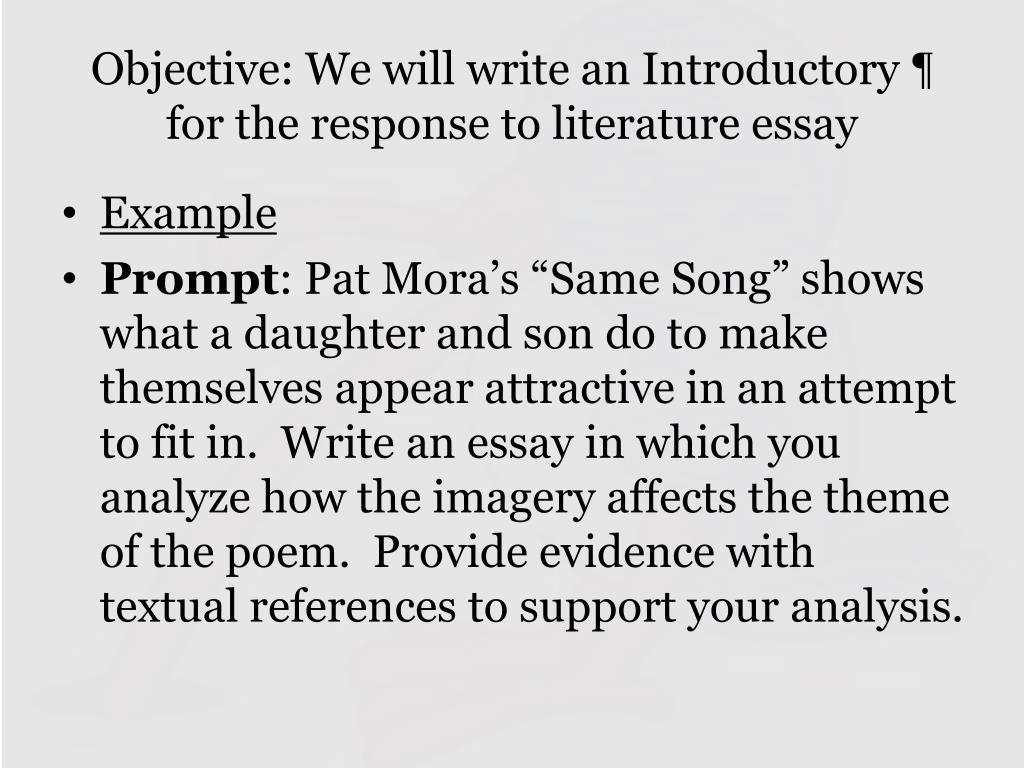 Essay talkshows