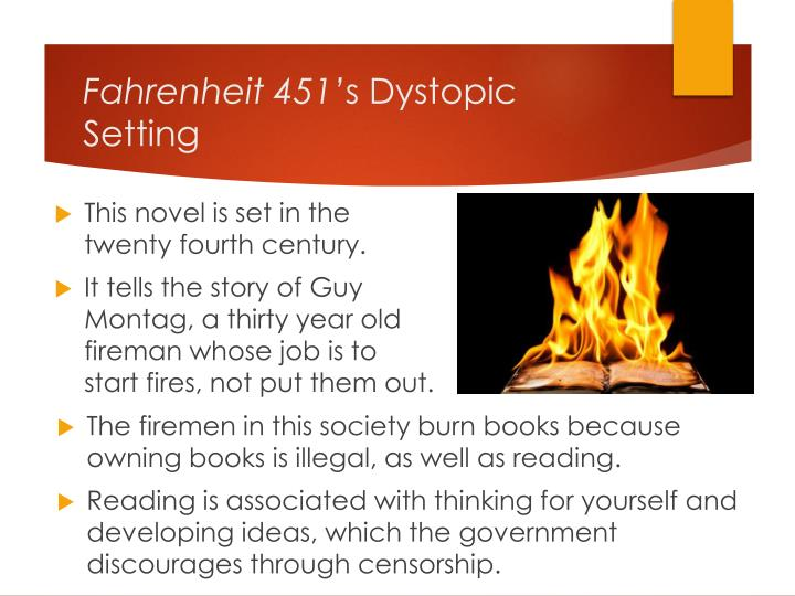 fahrenheit 451 connection to current society