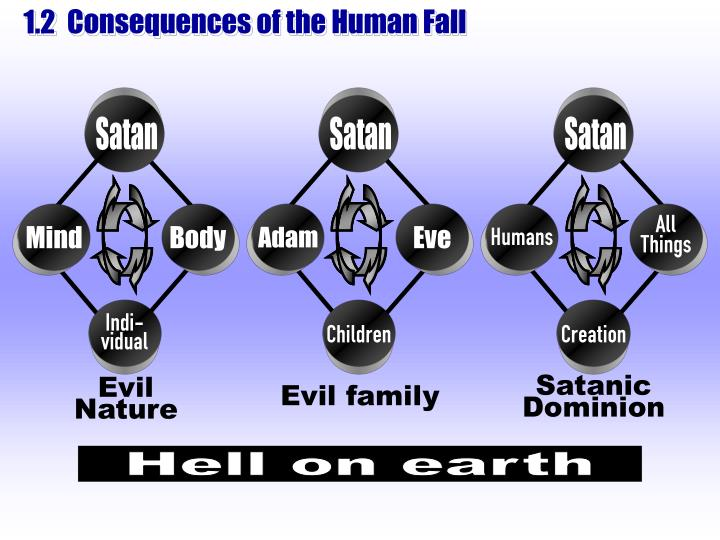 Consequences of the Human Fall