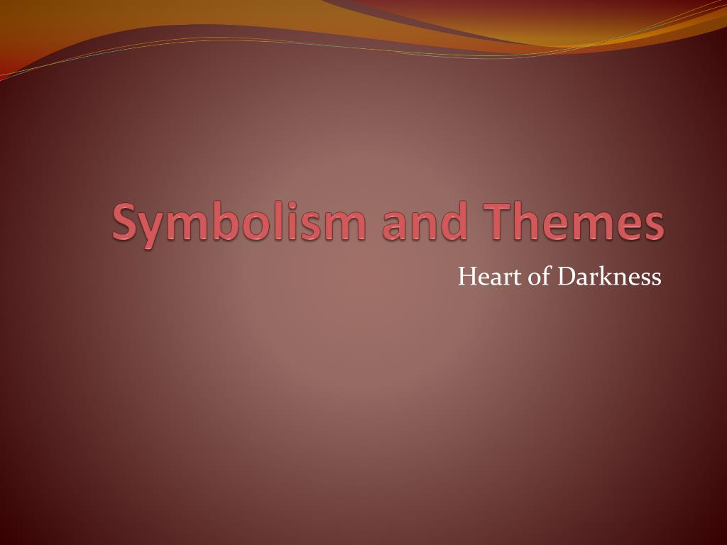 themes from heart of darkness