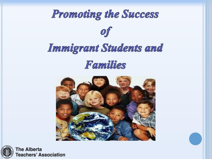 educational needs of immigrant and refugee students Courtney anne brewer, michael mccabe recent immigrants and refugees — both children and their families — often struggle to adapt to canadian education systems for their part, educators also face challenges when developing effective strategies to help these students make smooth transitions to.
