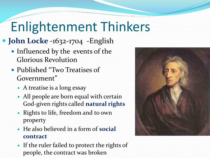 how thomas hobbes and john locke influenced enlightenment thinkers essay Enlightenment essay assignment & rubric, attached your group will plan a dinner party for 12 age of enlightenment thinkers you are required to include thomas hobbes, ben franklin, thomas jefferson, john locke, montesquieu rousseau.