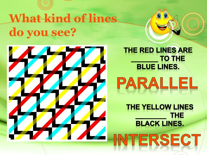 What kind of lines