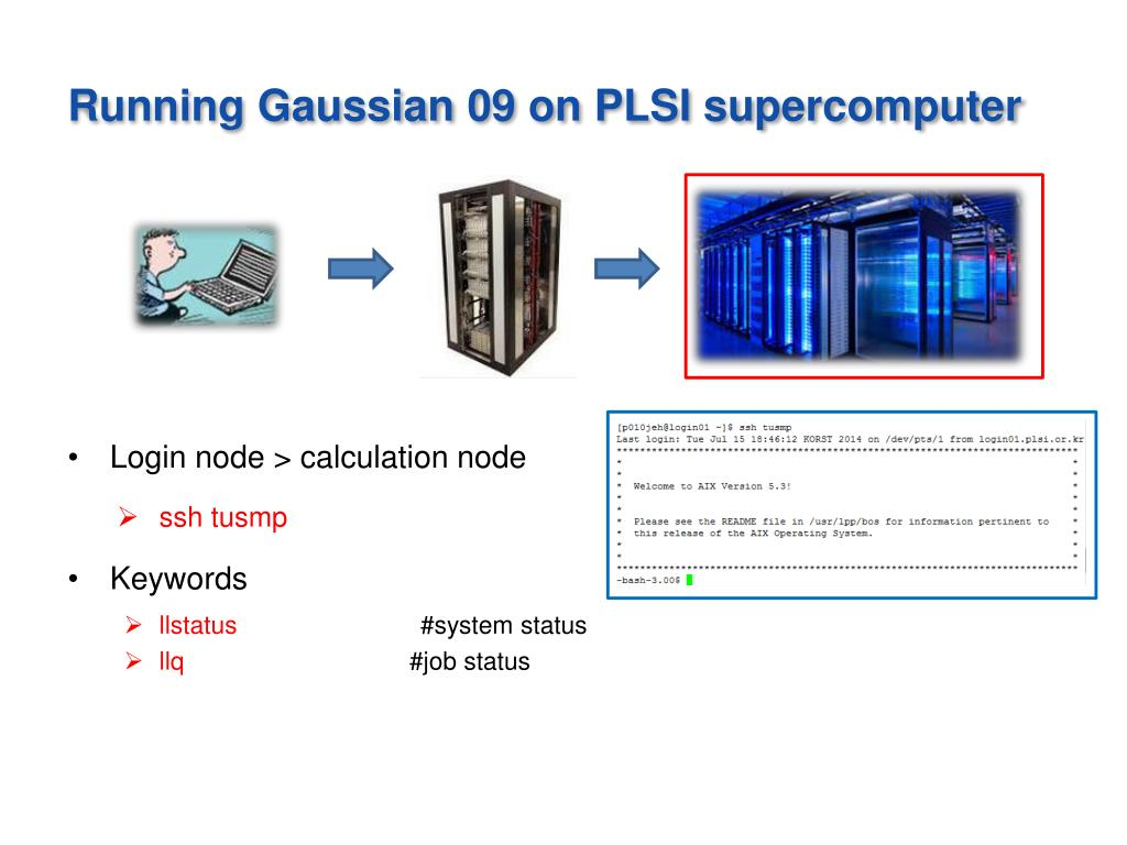 PPT - Gaussian 09 Tutorial PowerPoint Presentation - ID:2638299