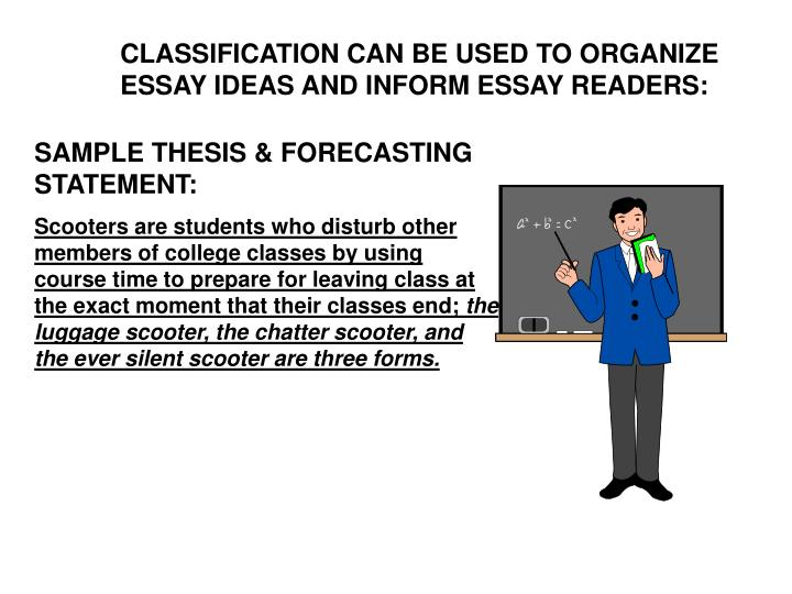 essay on classification Classification essay: american music are you a music fan this paper provides an overview of the use of dna testing to maintain racial/ethnic classifications, inc.