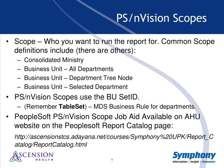 PPT - nVision Report Requests & Scopes PowerPoint Presentation ...
