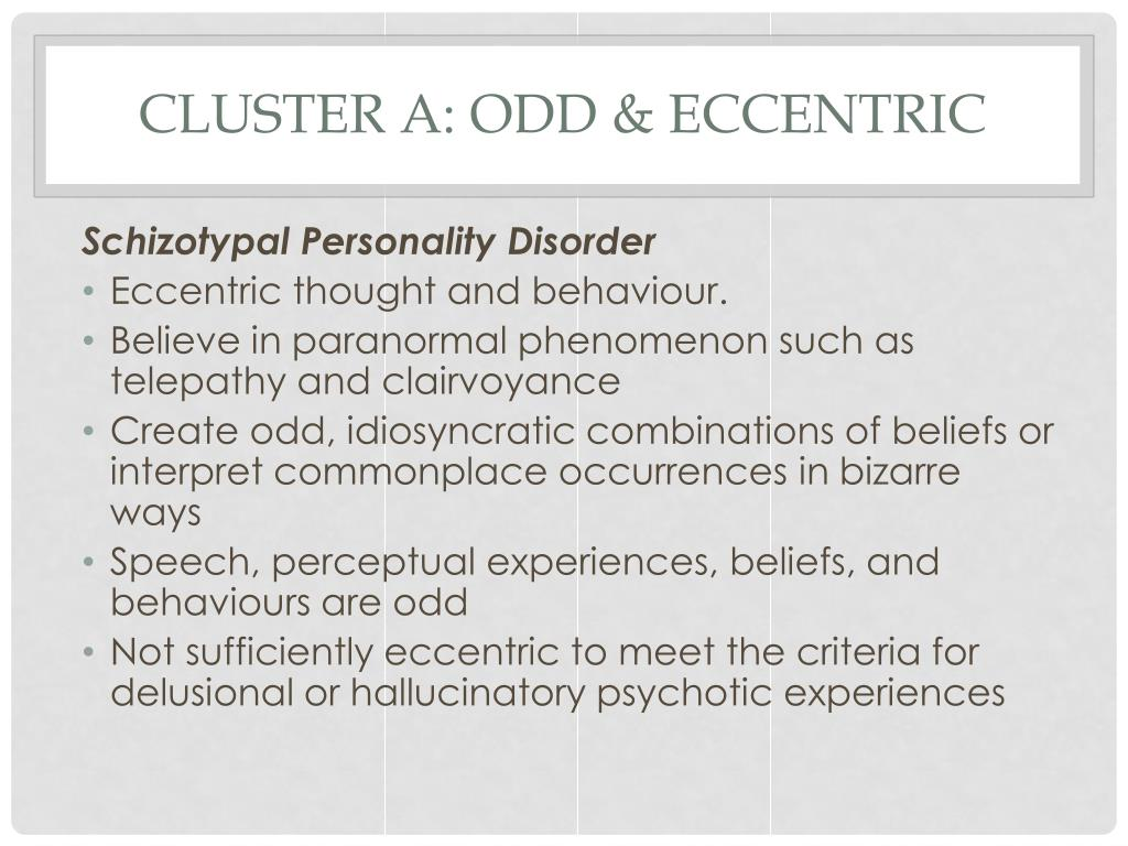 PPT - Personality Disorders PowerPoint Presentation - ID:2638534