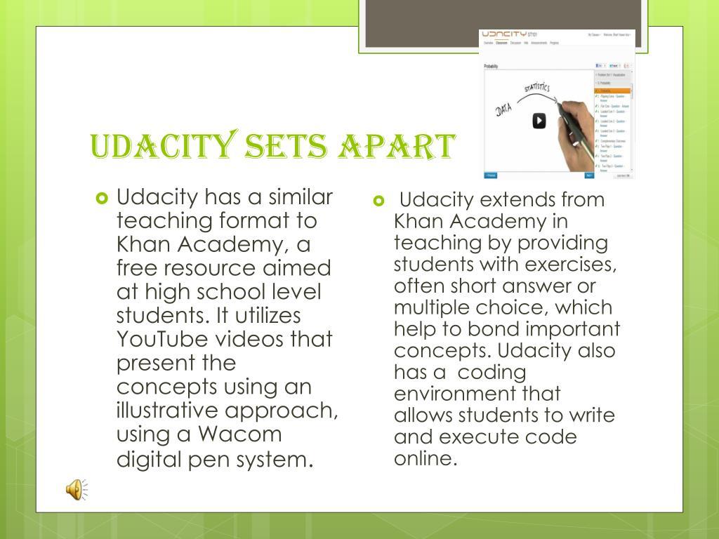PPT - Udacity PowerPoint Presentation - ID:2638646