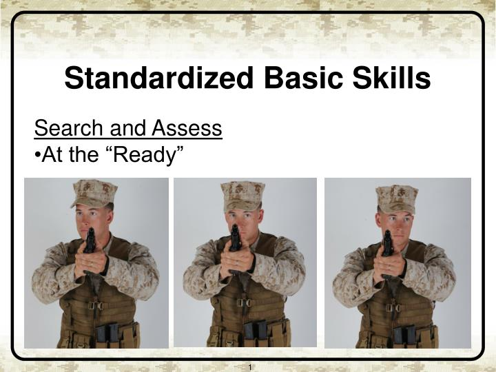 Search and Assess