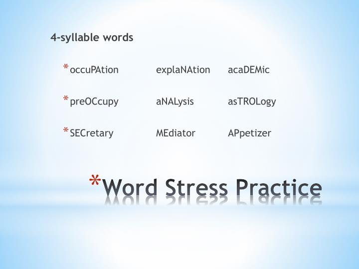 4-syllable words