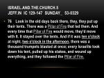 israel and the church 5 jeff in ic 129 147 sunday 53 0329