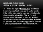 israel and the church 5 jeff in ic 129 147 sunday 53 03292