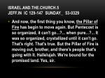 israel and the church 5 jeff in ic 129 147 sunday 53 03297