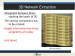 3d network extraction