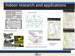 indoor research and applications