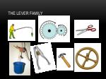 the lever family