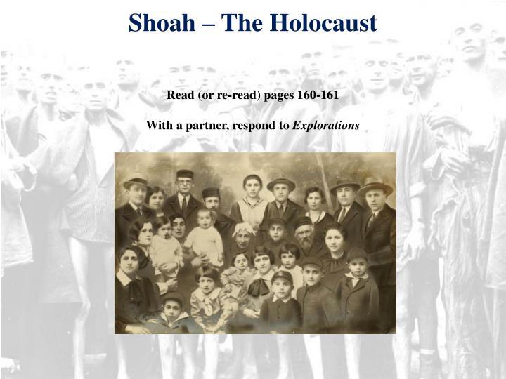 Shoah – The Holocaust