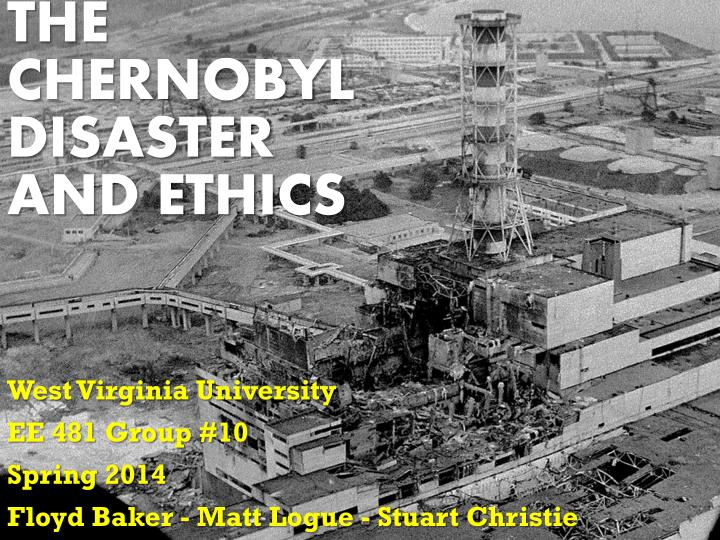 an analysis of the chernobyl nuclear plant disaster