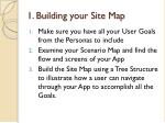 1 building your site map