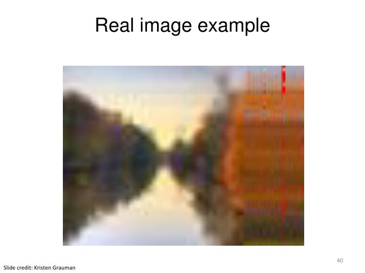 Real image example