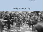 victory in europe day