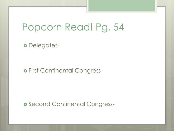 Popcorn Read! Pg. 54