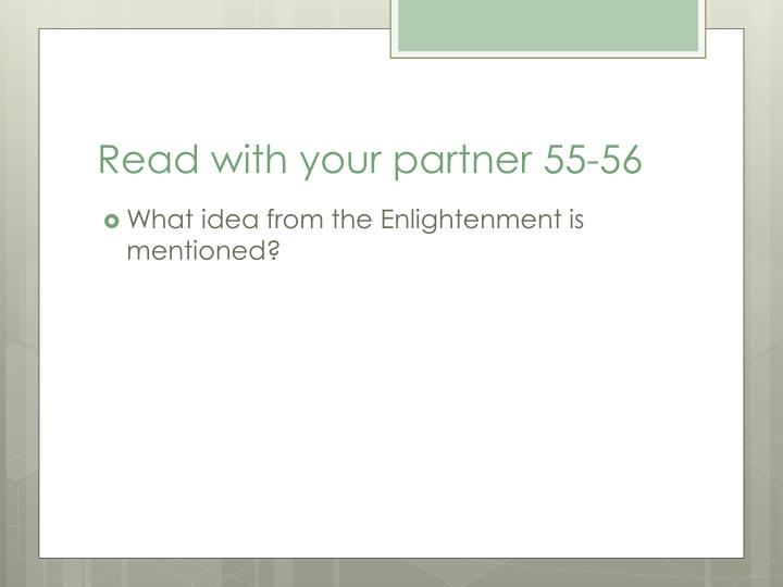 Read with your partner 55-56
