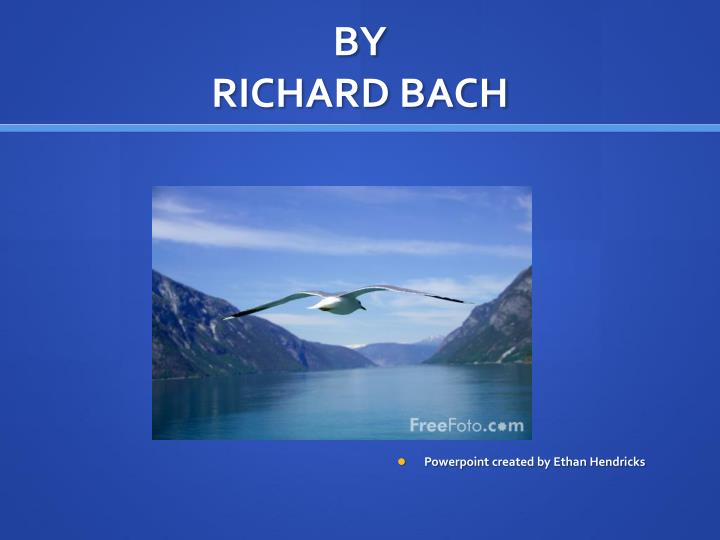 By richard bach
