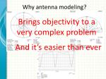 why antenna modeling2
