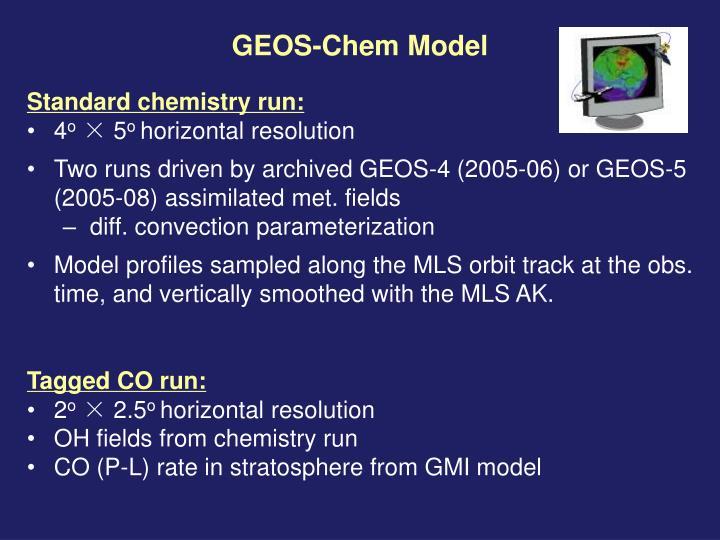 GEOS-Chem Model