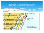 barrier island migration