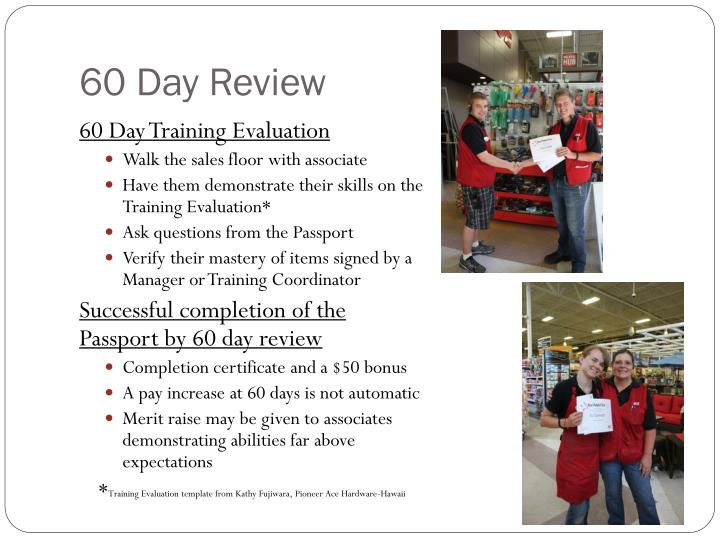 60 Day Review