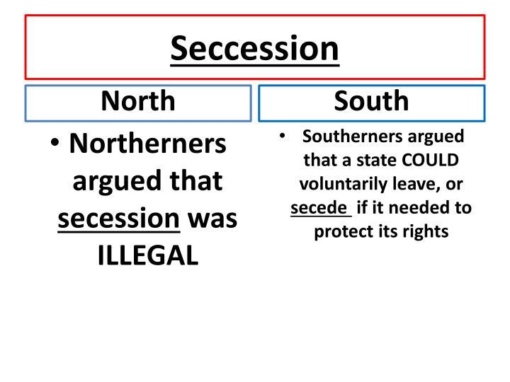 Seccession